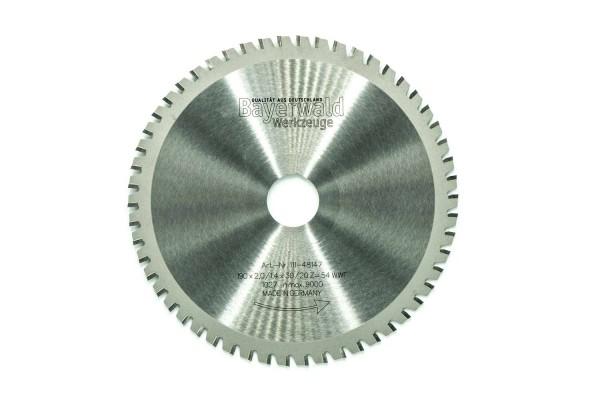HM Multifunktions-Kreissägeblatt - Ø 190 mm x 2,0 mm x 30/20 mm | Z=54 WWF