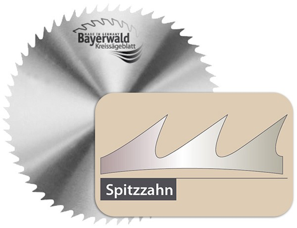 CS Kreissägeblatt - Ø 500 mm x 2,5 mm x 30 mm | Z=80 NV - B
