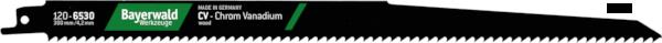 5x Bayerwald Werkzeuge Säbelsägeblatt Länge 300 mm
