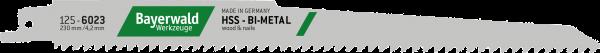 5x Bayerwald Werkzeuge Säbelsägeblatt Länge 230 mm