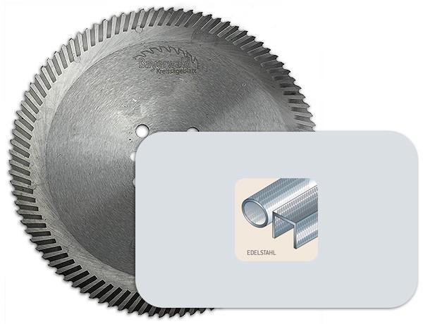 Segmentkreissägeblatt für Edelstahl