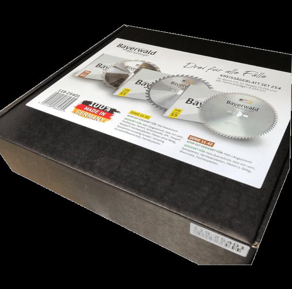 Kreissägeblatt Set 254 für Bosch GTS 10 - der Allrounder