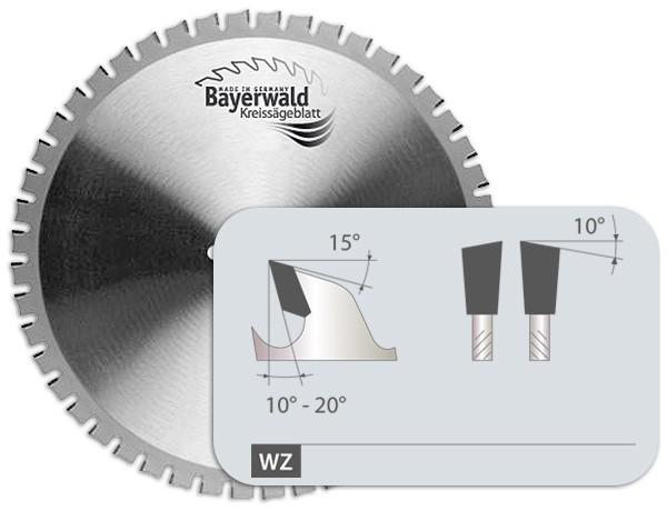 HM Baustahl Kreissägeblatt - Wechelzahn + Wechselfase