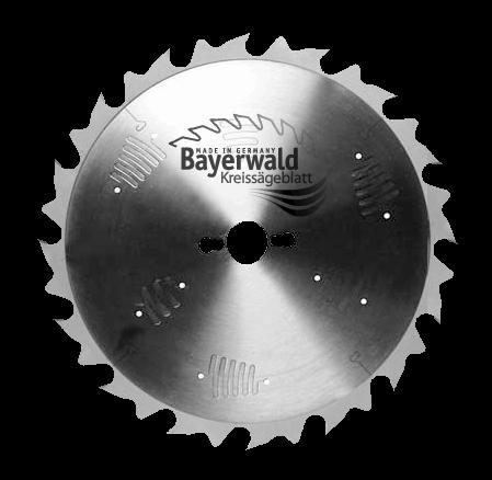 HM Kreissägeblatt - Ø 300 mm x 3,2 mm x 30 mm | Z=24 S-LWZ