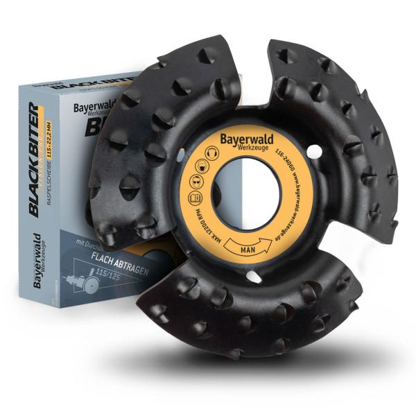 Bayerwald Black Biter Vision - Raspelscheibe Ø100 mm für Winkelschleifer