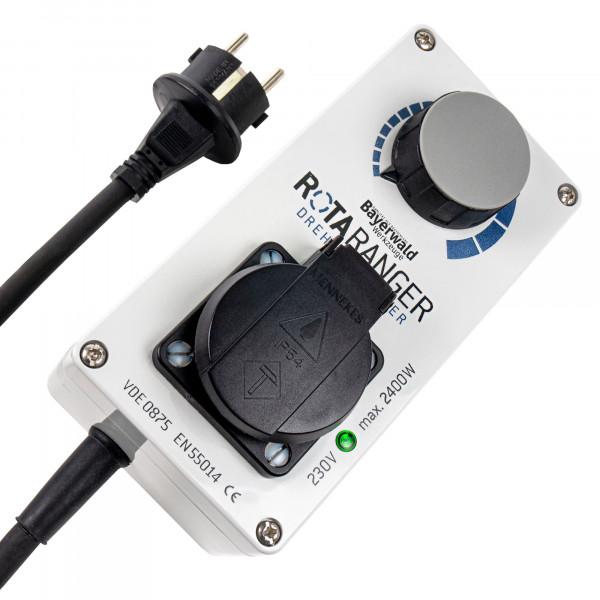 Elektronischer Drehzahlregler Bayerwald RotaRanger - 230 V bis 2400 W