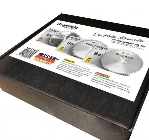 Kreissägeblatt Set 254/250 kompatibel mit Bosch GTS und PTS 10 - der Allrounder