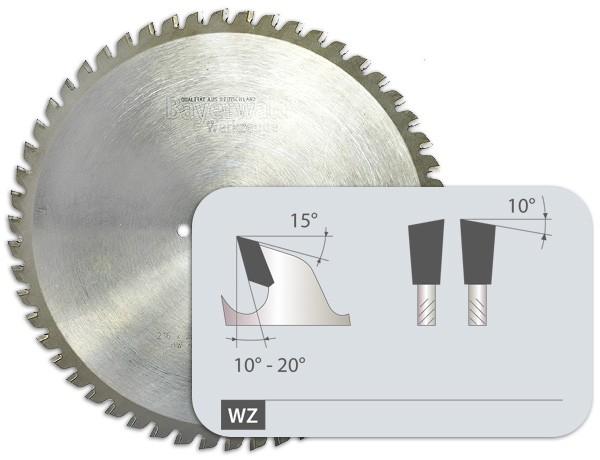 HM Dry Cuttter Edelstahl - Zahnform Wechselzahn