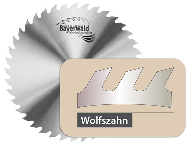 CS Kreissägeblatt - Ø 500 mm x 2,5 mm x 30 mm | Z=56 KV - A
