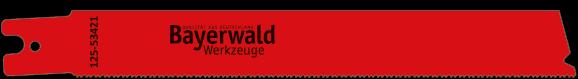 1x Bayerwald Werkzeuge Säbelsägeblatt Länge 200 mm