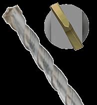 1x Hammerbohrer 110 mm SDS Plus Schaft - Ø:4 mm - GL: 110 mm