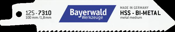 5x Bayerwald Werkzeuge Säbelsägeblatt Länge 100 mm