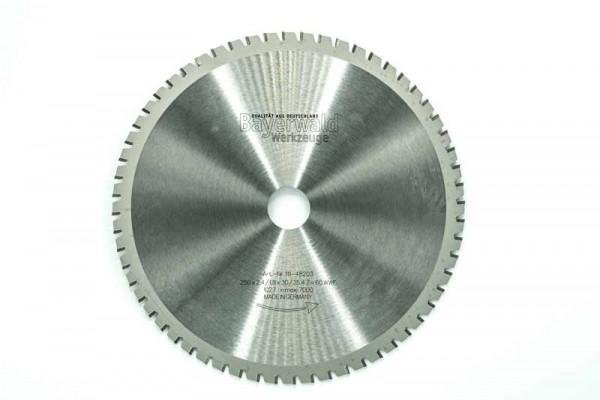 HM Multifunktions-Kreissägeblatt - Ø 250 mm x 2,4 mm x 30/25,4 mm | Z=60 WWF